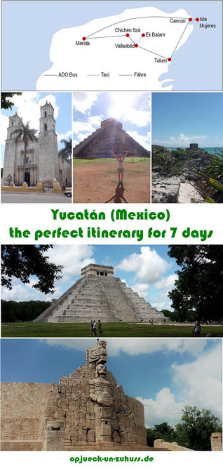 Yucatán (Mexico) - the perfect itinerary for 7 days