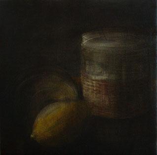 Acrilico e olio su tela cm 30 x 30 anno 2011