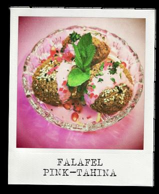 Libanesischer Falafel / Pink Tahina