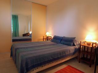 Schlafzimmer Ferienwohnung Sète