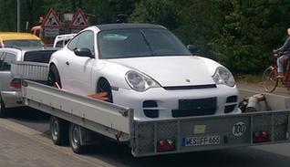 Autotransportanhänger - auch für tiefer gelegte Autos und Oldtimer