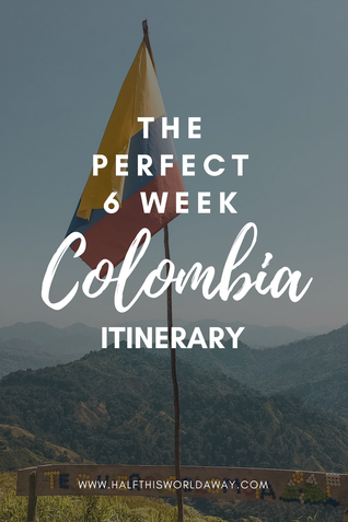 Colombia travel itinerary