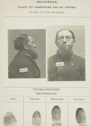 Signalementskaart Veenhuizen opname 22-08-1898