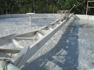Planta depuradora para el tratamiento de residuos de la industria de lácteos - Sueros lácteos para biodigestores Aqualimpia
