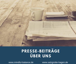 Salzgrotte SALINUM Hagen, Presse, Mindful Balance Gesundheitsprävention & Stressmanagement, Christina Gieseler