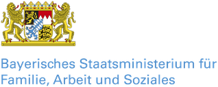 Freiwilligen-Zentrum Augsburg - Logo Bayerisches Staatsministerium Logo Bayerisches Staatsministerium für Familie, Arbeit und Soziales