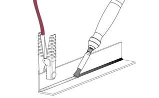 Pickling the carbon fiber brush