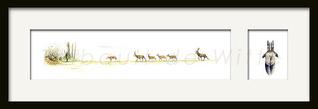 artiste peintre animalier scène de chasse thibault de witte