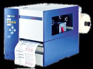 Farbetikettendrucker Valentin DuoPrint 107 Niesel-Etikett