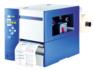 Industriedrucker Valentin Duoprint 107 Niesel-Etikett