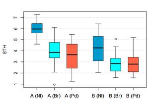 Boxplot mit R / Gruppenvergleich R / Statistik Beratung