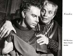 Schiller-Theater, Heft 78, 1958-1959 - Fiasko - Rolf Henninger/Walter Franck