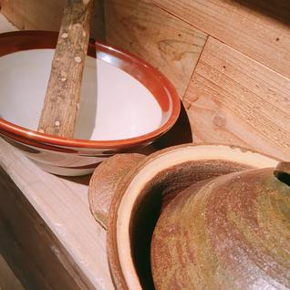 玄米 味噌汁 土鍋 ごはん すりこぎ