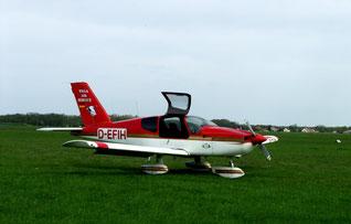 Erstes Flugzeug der Firma Wega-Air-Service