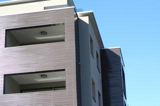 Fassadenverkleidungen in Metall