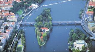 Schützeninsel in Prag