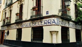 タパスとシェリーの究極のマリアージュ、No.1に選ばれたEnrique Becerra エンリケ・ベセラ (www.vinetur.com)