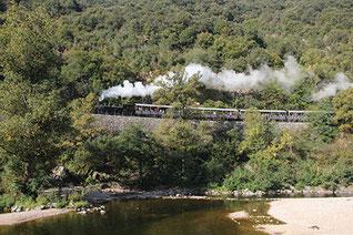 Train de l'Ardèche dit aussi Mastrou - Pays de Lamastre - Ardèche 07