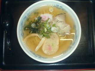 Hakodate traditional sio-ramen with Gagome kelp