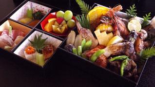 真の日本料理「美菜ガルテンふるかわ」折詰-光琳-初秋の祝膳