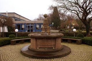 Brunnen, gestiftet von Generalkonsul Erhard Bissinger