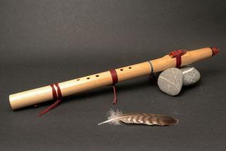 Flöte aus Linde, Ton Cis