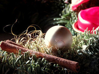 Adventskranzdetail