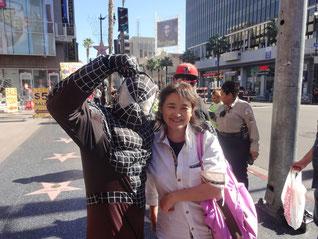 ハリウッドで写真