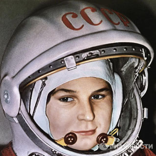 Valentina Tereshkova, la primera mujer astronauta.