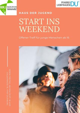 Start ins Weekend