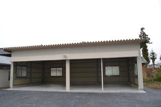車庫(重量鉄骨)