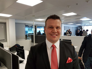 Fredrik Wildtgrube, Head of Global Sales, Finnair Cargo  -  photo ms