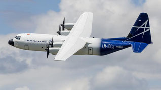 The FAA has okayed Lockheed's LM-100J