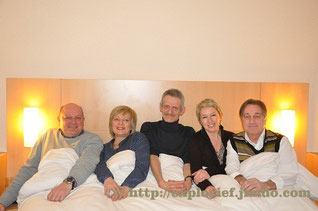 Ludo Hellinx, Mieke Bouve, Dirk Lavrysen,  Ann De Winne en Marc Lauwrys.