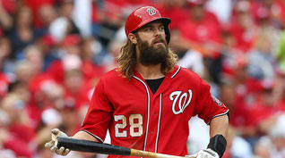 Nella foto Jason Werth (da Sport Illustrated)