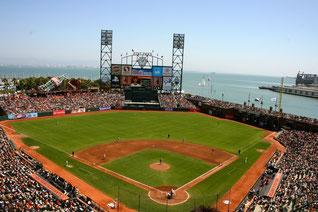 Il fantastico At&T Park di San Francisco