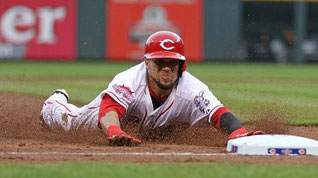 Nella foto Billy Hamilton (da MLB)