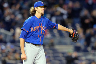 Nella foto Jacob deGrom (Brad Penner-USA TODAY Sports)