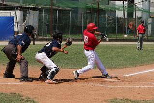 Una fase della partita Allievi Toscana - Emilia Romagna (foto tratta dal sito www.alessiobaroncini.it - Oldmanagency)