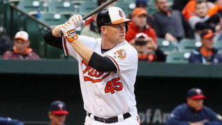 Nella foto Mark Trumbo degli Orioles leader nei fuoricampo 2016 (Hr= 46)  (Rob Carr/Getty Images)