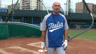 Nella foto il Manager della Nazionale Italiana Marco Mazzieri
