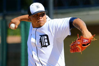 Nella foto Bruce Rondon (Reuters.com)