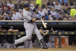 Carlos Beltran Yankees (PHOTO: JESSE JOHNSON/REUTERS)