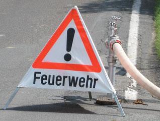 Achtung - Jugendfeuerwehr im Einsatz!