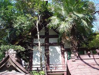 稲毛神社の本殿