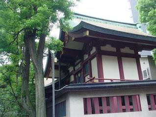 蒲田八幡神社の本殿