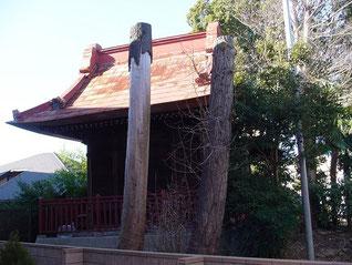 高津諏訪神社の本殿