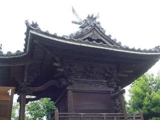 矢向日枝神社の本殿