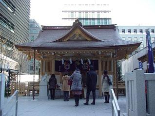 福徳神社の拝殿