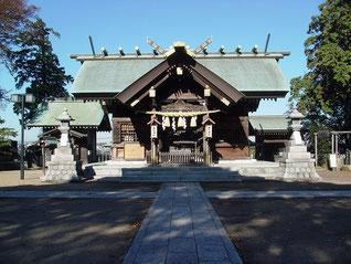 高石神社の拝殿